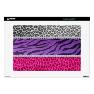 Girly Diamond Animal Print Skin For Laptop