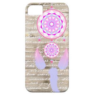 Girly Dreamcatcher Wood Pastel Colors iPhone SE/5/5s Case