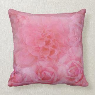 Light Pink Roses Pillows - Decorative & Throw Pillows Zazzle