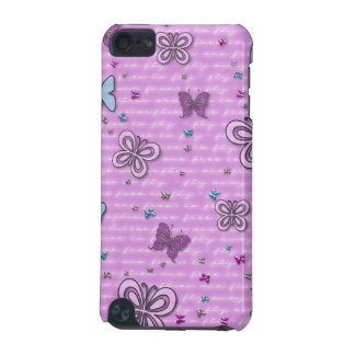 Girly Fabric-Inlaid Hard Shell Case for iPod Touch iPod Touch (5th Generation) Cases