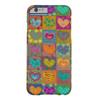Girly fancy hearts barely there iPhone 6 case