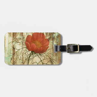 girly fashion floral  trendy vintage paris tags for bags