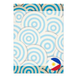 Girly Filipino Flag Gift Card