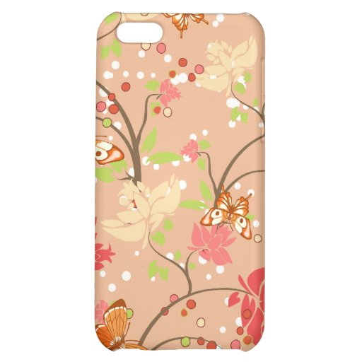 Girly Floral iPhone 4s Case iPhone 5C Case
