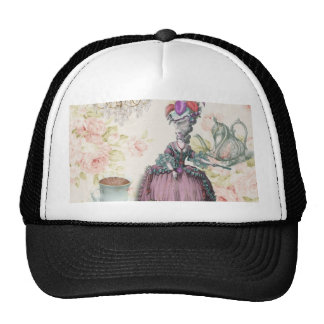 Girly floral Marie Antoinette Paris tea party Trucker Hat