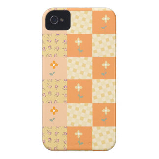 Girly Floral Patchwork Blackberry Bold Case iPhone 4 Covers