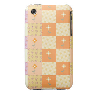 Girly Floral Patchwork iPhone 3G/3GS Case iPhone 3 Case-Mate Case