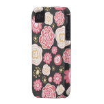 Girly Floral Pattern Case Mate Iphone Barely There Case-Mate iPhone 4 Covers