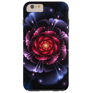Girly Floral Rose Tough iPhone 6 Plus Case