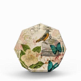 girly french botanical bird rose paris fashion award