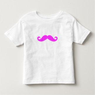 Girly Fuchsia Pink Mustache Shirts
