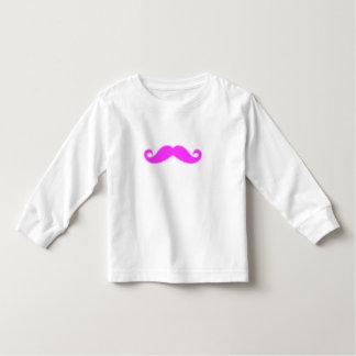 Girly Fuchsia Pink Mustache Tee Shirt