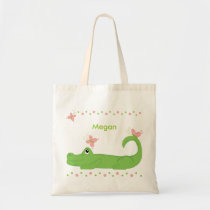GIrly Gator Tote Bag
