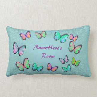 Girly Gift Personalized Pillow! ADD HER NAME!