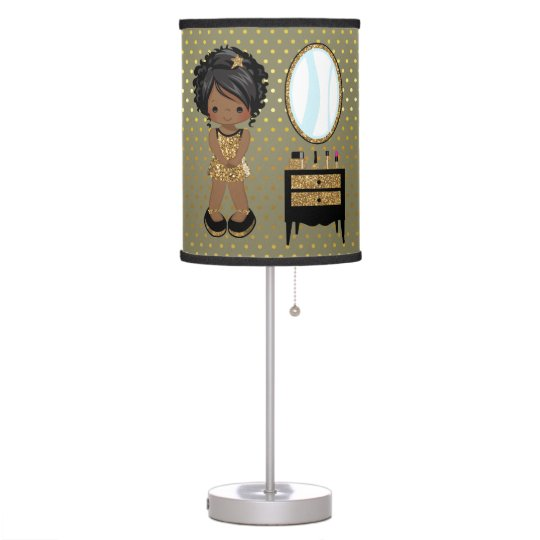 Girly Lamps For Bedroom: Choose Background Color Table Lamp