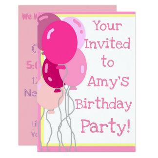 Girly Girl Invitation