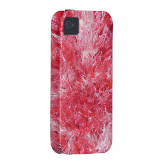 Girly Girl - Pink Faux Fur Vibe iPhone 4 Case
