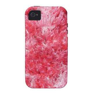 Girly Girl - Pink Faux Fur Case-Mate iPhone 4 Cover
