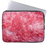 Girly Girl - Pink Faux Fur Laptop Sleeves
