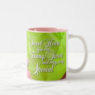 Girly Girl Sentiment Mug