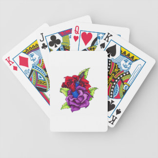 Girly Girl's Roses Bicycle Playing Cards