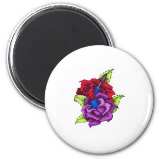 Girly Girl's Roses Magnet