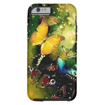 merydesigns Girly gorgeous butterflies iPhone 6, Vibe Tough iPhone 6 Case