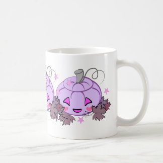 Girly Gothic Purple Jack o' Lantern Coffee Mug
