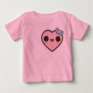 Girly Heart Baby T-Shirt