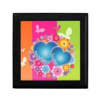 Girly hearts jewelry box