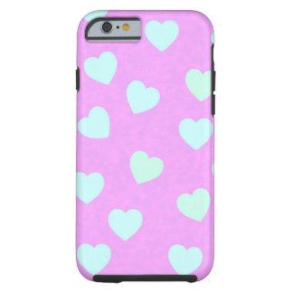 girly heartshape iphone 6 phone case