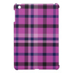 Girly Hot Pink Plaid Tartan Or Twill - iPad Mini Cover