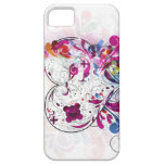 Girly iPhone5 Abstract Pink Heart Case-Mate Case iPhone 5 Covers