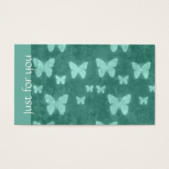 Girly Jade Green Butterfly | Spa Gift Cards