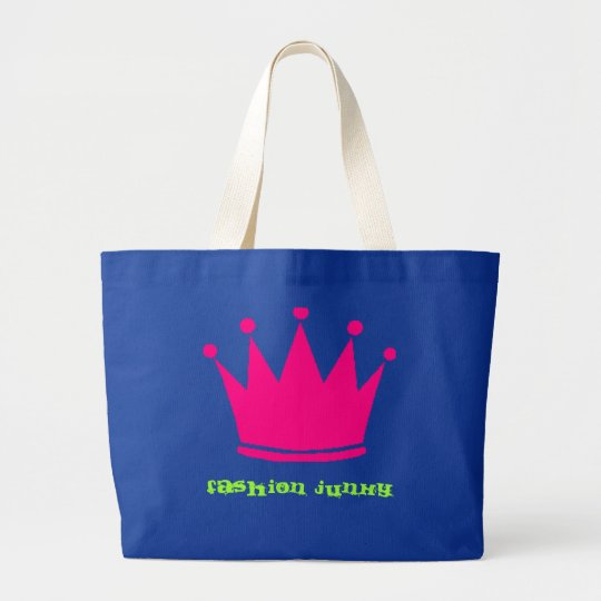 Girly Junky Large Tote Bag