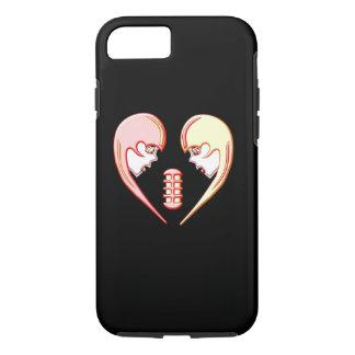 Girly Karaoke Love Heart iPhone 8/7 Case