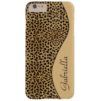 Girly Leopard Monogram iPhone 6 Plus case