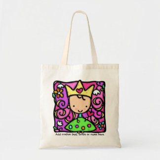 Girly Little Princess Tote Bag