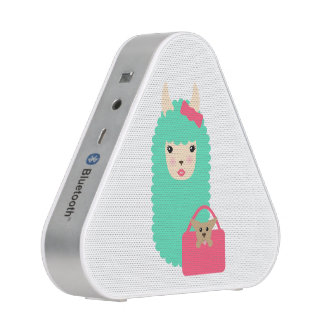 Girly Llama Emoji Speaker
