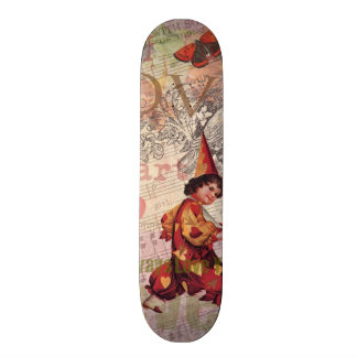Girly Love Heart Sweetheart Skateboard Deck