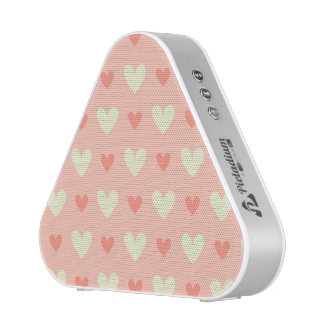 Girly Love Hearts - Elegant and Chic Pattern Bluetooth Speaker