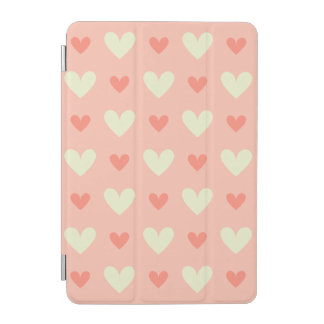 Girly Love Hearts - Elegant and Chic Pattern iPad Mini Cover