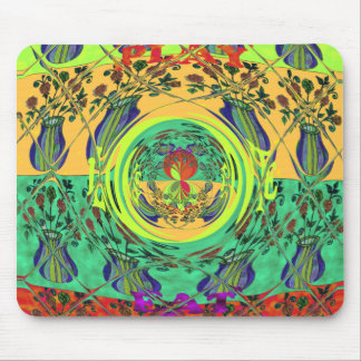 Girly Lovely Floral Mousepad