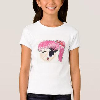 Girly Manga Shirt in Pink