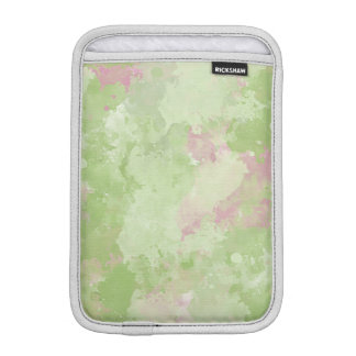 Girly Mint Pink Abstract Sleeve For iPad Mini