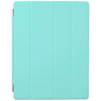 girly modern aqua turquoise chic tiffany blue iPad cover