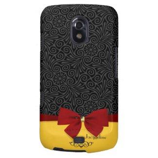 Girly Modern Elegant Damask Samsung Galaxy Nexus Samsung Galaxy Nexus Cover