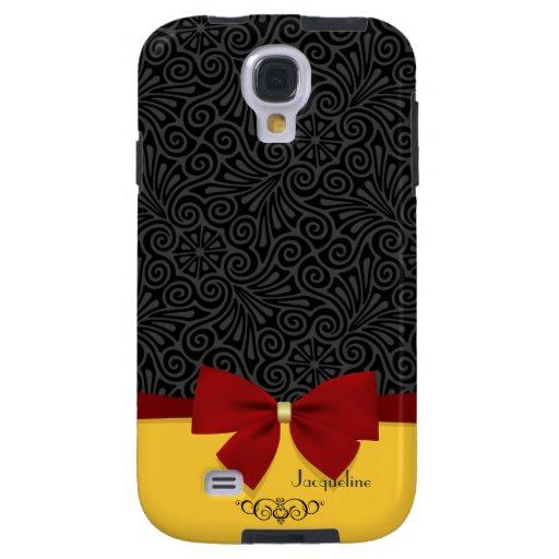 Girly Modern Elegant  Damask Samsung Glaxy S4 Case Galaxy S4 Case