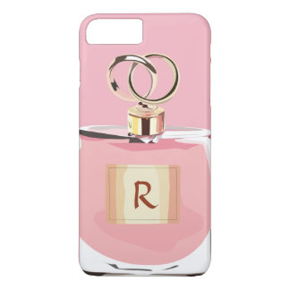 Girly Monogram Beauty Pink Stylish Perfume Bottle iPhone 8 Plus/7 Plus Case