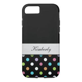 Girly Monogram Style iPhone 8/7 Case